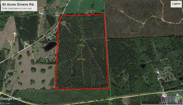 TBD Givens Rd, Kentwood, LA 70444 (#2021005275) :: Patton Brantley Realty Group