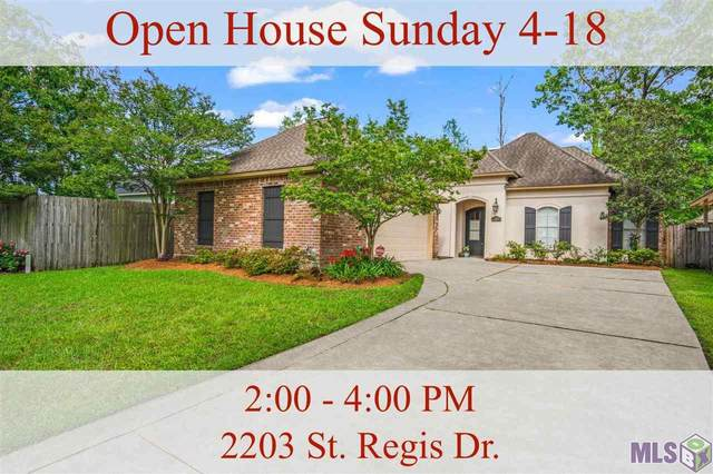 2203 St Regis Dr, Baton Rouge, LA 70816 (#2021005887) :: Patton Brantley Realty Group