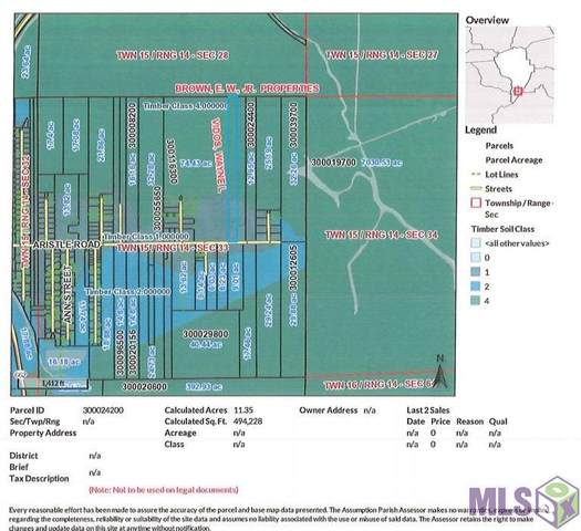 0 Aristile Rd, Bayou Lourse, LA 70380 (#2021007754) :: Patton Brantley Realty Group