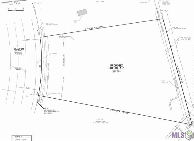 Lot 58-A-1 Lilian Dr, Baton Rouge, LA 70817 (#2021008660) :: Patton Brantley Realty Group