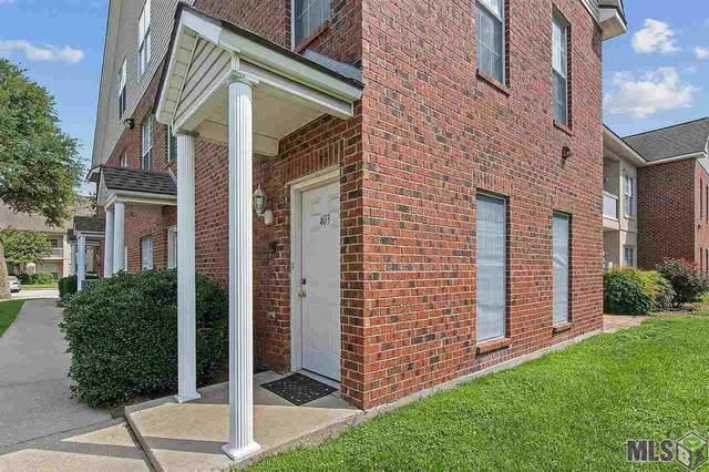 4625 Burbank Dr #403, Baton Rouge, LA 70820 (MLS #2021010377) :: United Properties