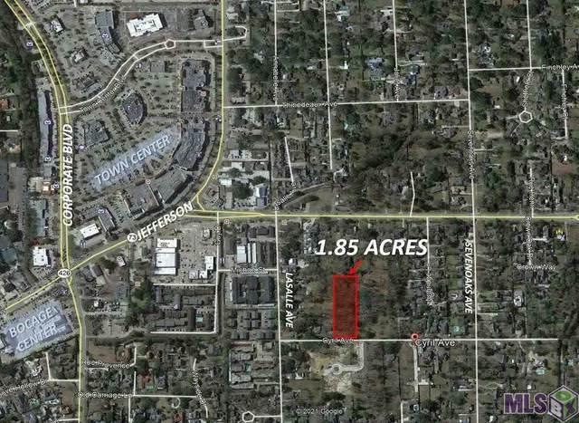 1420 Cyril Ave, Baton Rouge, LA 70806 (#2021010441) :: RE/MAX Properties
