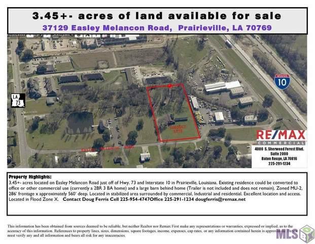 37129 Easley Melancon Rd, Prairieville, LA 70769 (#2021011357) :: Smart Move Real Estate