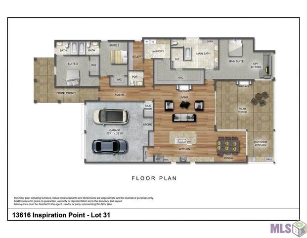 13616 Inspiration Point Dr, Baton Rouge, LA 70810 (#2021014039) :: Patton Brantley Realty Group