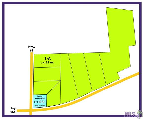 TBD 1-A La Hwy 68, Jackson, LA 70748 (#2021014099) :: Smart Move Real Estate