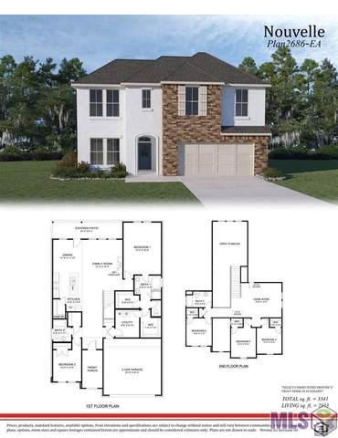 13933 Bellacosa Ave, Baton Rouge, LA 70817 (#2021014407) :: Patton Brantley Realty Group