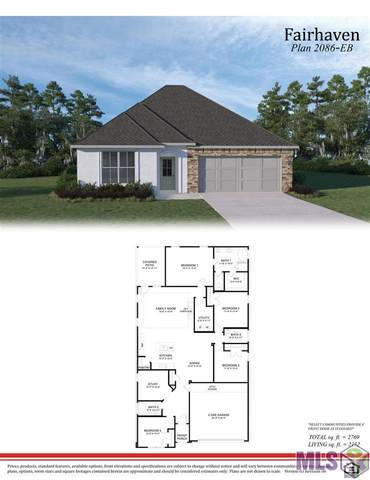 13951 Bellacosa Ave, Baton Rouge, LA 70817 (#2021014424) :: Patton Brantley Realty Group