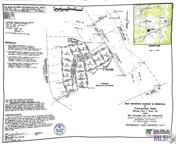 Lot 4 Tranquility Oaks, Denham Springs, LA 70706 (#2021014625) :: RE/MAX Properties