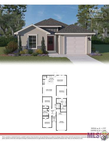 12628 Orchid Ln, Walker, LA 70785 (#2021014654) :: RE/MAX Properties