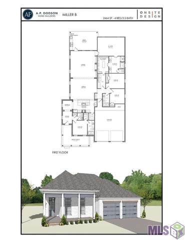 17915 Empress Dr, Greenwell Springs, LA 70739 (#2021014762) :: Patton Brantley Realty Group
