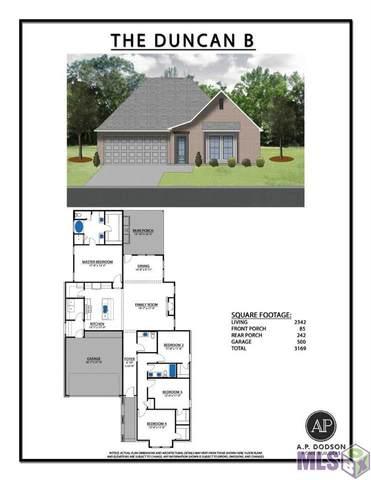 14265 Black Ridge Ave, Baton Rouge, LA 70818 (#2021014765) :: Smart Move Real Estate