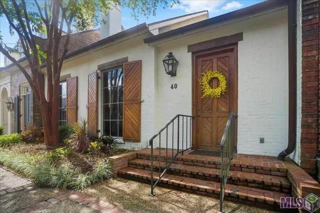 40 Jamestowne Ct #40, Baton Rouge, LA 70809 (#2021015373) :: David Landry Real Estate