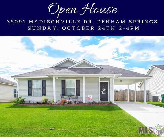 35091 Madisonville Dr, Denham Springs, LA 70706 (MLS #2021016151) :: United Properties