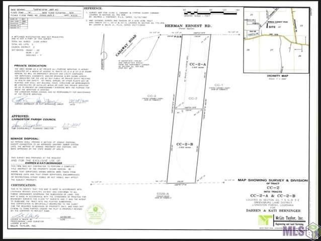 CC-2-B Herman Ernest Dr, Denham Springs, LA 70706 (MLS #2021016624) :: United Properties