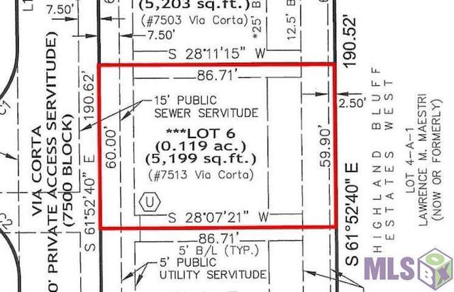 7513 Via Corta, Baton Rouge, LA 70808 (MLS #2021016631) :: United Properties