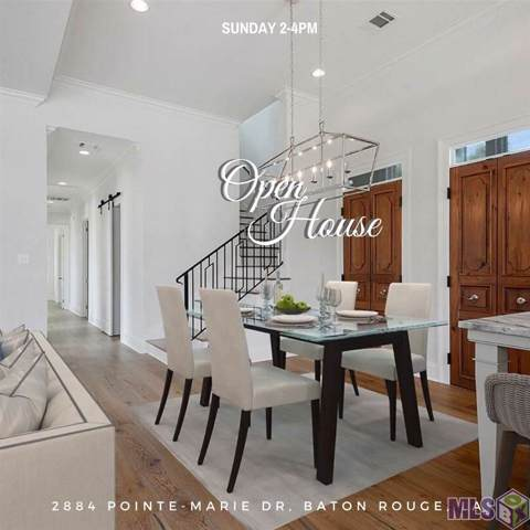 2884 Pointe-Marie Dr, Baton Rouge, LA 70820 (#2019009282) :: The W Group with Berkshire Hathaway HomeServices United Properties