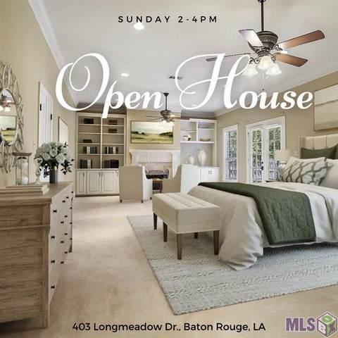 403 Longmeadow Dr, Baton Rouge, LA 70810 (#2020015566) :: Darren James & Associates powered by eXp Realty