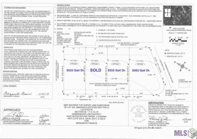 9363 Gail Dr, Baton Rouge, LA 70809 (#2018000994) :: David Landry Real Estate