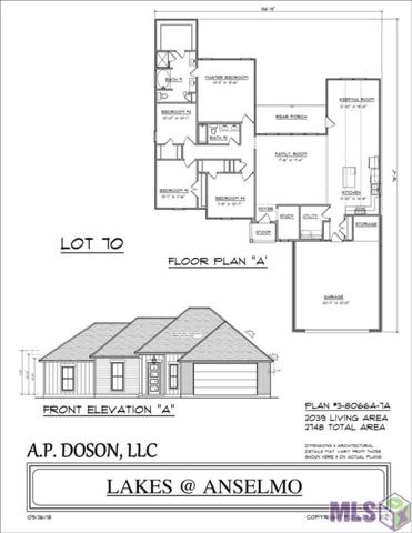 LOT 70 Kodiak Dr, Baton Rouge, LA 70810 (#2018015703) :: Darren James & Associates powered by eXp Realty