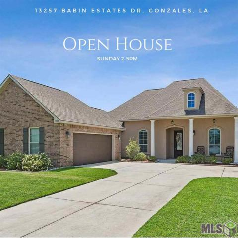 13257 Babin Estates Dr, Gonzales, LA 70769 (#2019008538) :: Smart Move Real Estate
