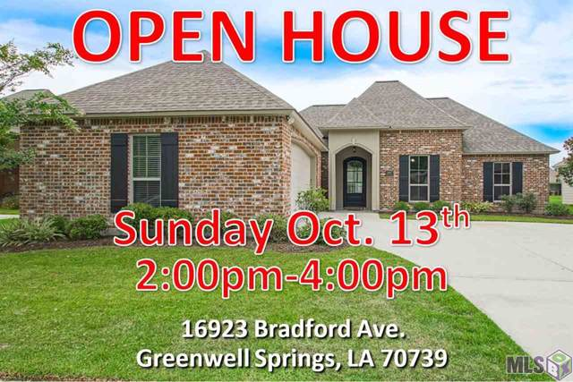 16923 Bradford Ave, Greenwell Springs, LA 70739 (#2019017306) :: Patton Brantley Realty Group