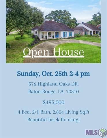 576 Highland Oaks Dr, Baton Rouge, LA 70810 (#2020015115) :: Patton Brantley Realty Group