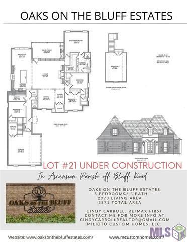 Lot 21 Royal Oak Dr, Prairieville, LA 70769 (#2020015952) :: Patton Brantley Realty Group