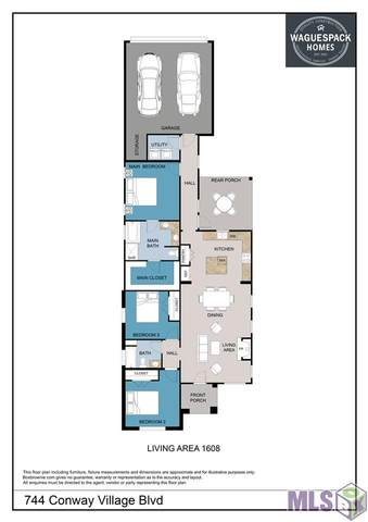 744 Conway Village Blvd, Gonzales, LA 70737 (#2020019236) :: Darren James & Associates powered by eXp Realty