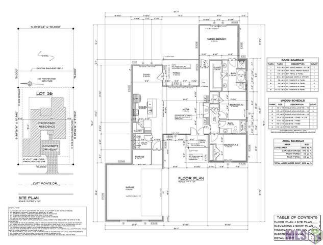 7722 Cutt Pointe Dr, Ventress, LA 70783 (#2021003886) :: Smart Move Real Estate