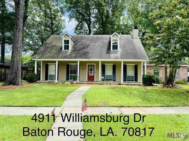 4911 Williamsburg Dr, Baton Rouge, LA 70817 (#2021008322) :: Patton Brantley Realty Group
