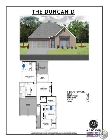 14265 Black Ridge Ave, Baton Rouge, LA 70818 (#2021014765) :: David Landry Real Estate