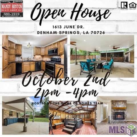 1613 June Dr, Denham Springs, LA 70726 (#2021015091) :: David Landry Real Estate