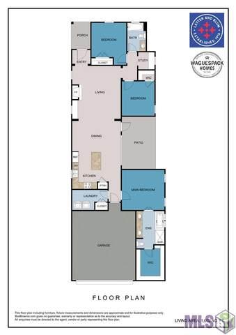 4855 Crestfield Way, Gonzales, LA 70737 (#2021015636) :: Darren James & Associates powered by eXp Realty