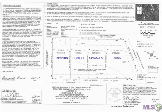 9353 Gail Dr, Baton Rouge, LA 70809 (#2018000992) :: The W Group with Berkshire Hathaway HomeServices United Properties
