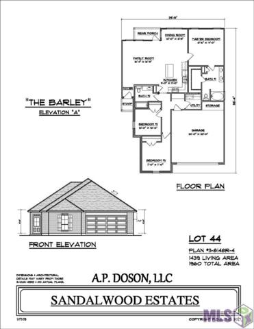 LOT 44 H S Brignac Dr, French Settlement, LA 70733 (#2018020040) :: Patton Brantley Realty Group