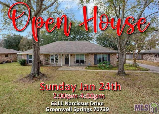 6311 Narcissus Dr, Greenwell Springs, LA 70739 (#2021000372) :: Darren James & Associates powered by eXp Realty