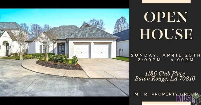 1136 Club Place, Baton Rouge, LA 70810 (#2021002927) :: The W Group