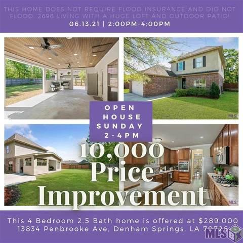 13834 Penbrooke Ave, Denham Springs, LA 70726 (#2021008470) :: Smart Move Real Estate