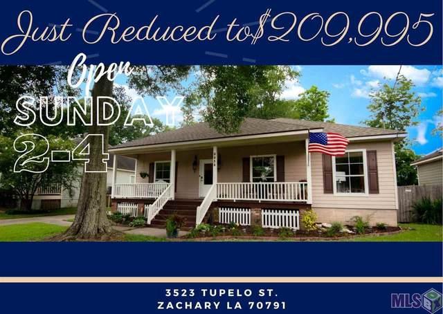 3523 Tupelo St, Zachary, LA 70791 (#2021009483) :: Patton Brantley Realty Group