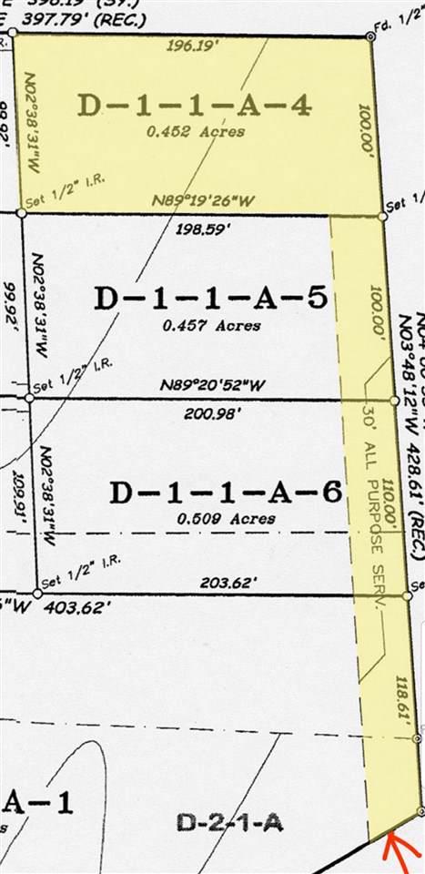 Tract D-1-1-A-4 Garney Hood Rd, Denham Springs, LA 70726 (#2019015965) :: Darren James & Associates powered by eXp Realty