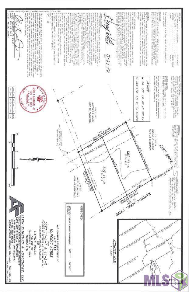 18593 Manchac Acres Rd, Prairieville, LA 70769 (#2019016030) :: The W Group with Berkshire Hathaway HomeServices United Properties