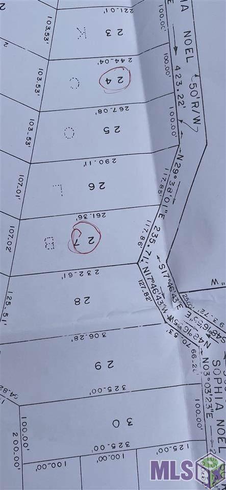 Lot 24 Sophia Noel Dr, Springfield, LA 70462 (#2021004071) :: Patton Brantley Realty Group