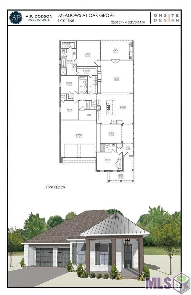 17375 Bull Rush Ave, Prairieville, LA 70769 (#2021011326) :: Patton Brantley Realty Group