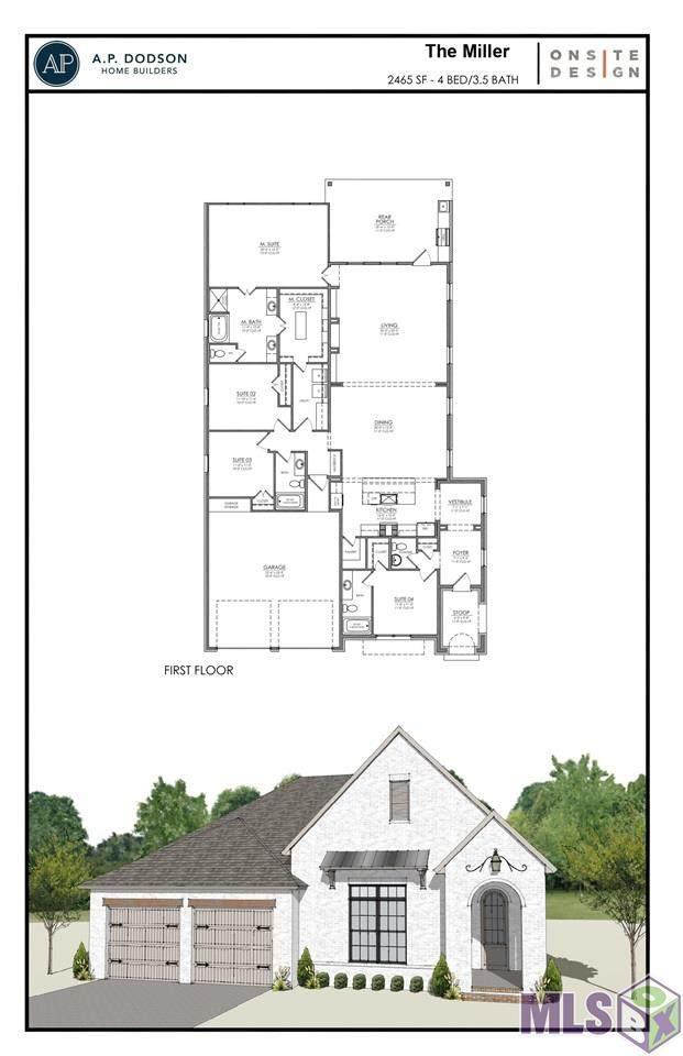 17759 Empress Dr, Greenwell Springs, LA 70739 (#2021011773) :: Smart Move Real Estate