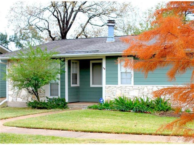 2800 Longmire Drive #15, College Station, TX 77845 (MLS #17019052) :: Platinum Real Estate Group