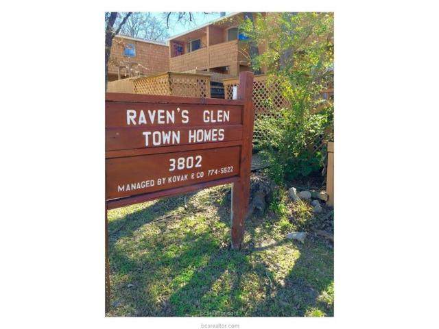 3802 College Main Street #8, Bryan, TX 77801 (MLS #17019128) :: RE/MAX 20/20