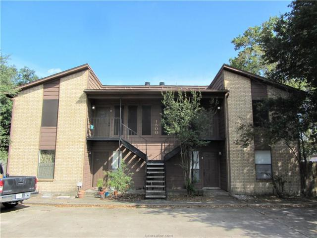 1800 Treehouse D, College Station, TX 77845 (MLS #18000698) :: The Lester Group