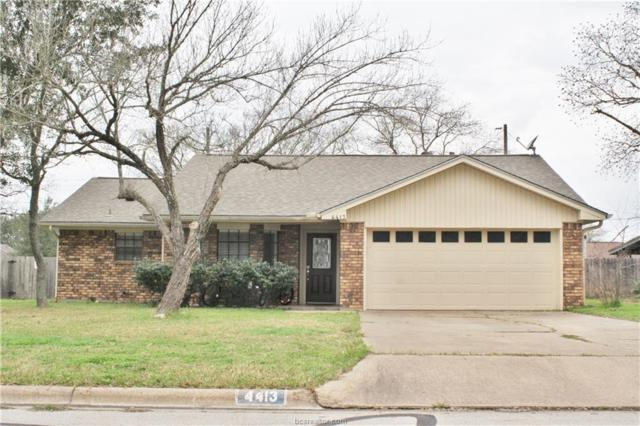4413 Kingsdale Drive, Bryan, TX 77802 (MLS #18003315) :: The Tradition Group