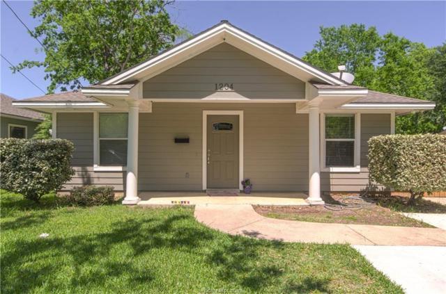 1204 Batts Street, Bryan, TX 77803 (MLS #18007313) :: The Tradition Group