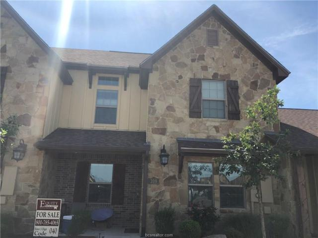 209 Capps Drive, College Station, TX 77845 (MLS #18008749) :: The Tradition Group